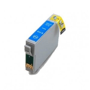 Epson T0712 inktcartridge cyaan (huismerk)