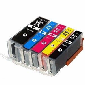 PGI-580XXL/CLI-581XXL(5)set